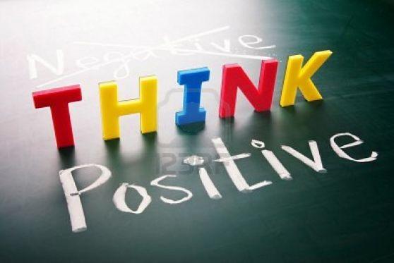 pensar en positivo